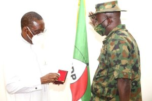 ​Stronger Delta: Okowa pledges continued partnership with military