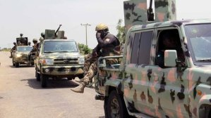 BREAKING: Two Injured As Nigeria Army Foils Youths From Razing Down Ebrumede Police Station In Delta