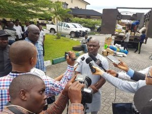 ​Dying Fishes: Okowa Provides Relief Materials To Burutu, Warri South West, Warri North LGAs In Delta