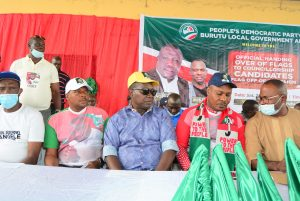 Burutu PDP Flag Presentation/Campaign: Takeme, Forteta, Pullah, Oromoni, Others Muster Support For PDP