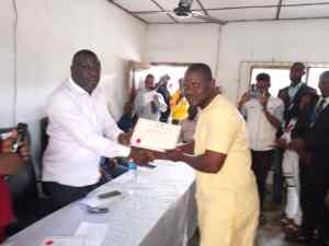 Burutu Local Government Chapter Of NYCN Gets New Leadership As Suoware Emerges Chairman