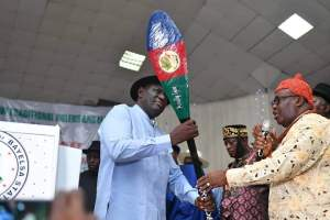 Inauguration: Okaba Vows To Squarely Address Ijaw Issues, Tackles FG, Others