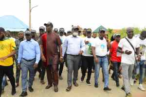 Peace Day: How Agediga Led SAF Officials, Others To Preach Peace In Ogulagha
