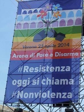 #resistenza oggi si chiama #nonviolenza
