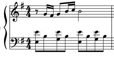 Lire le rythme au piano : extrait Amélie Poulain