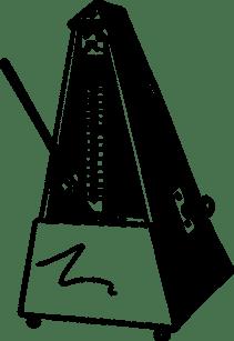 Le métronome pour aider à conserver une pulsation régulière