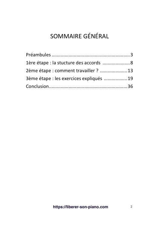 Comprendre et Improviser au piano grâce aux accords Page 2