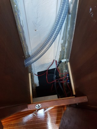 Also the lockers and areas under the floorboards were insulated - Liberta.fi