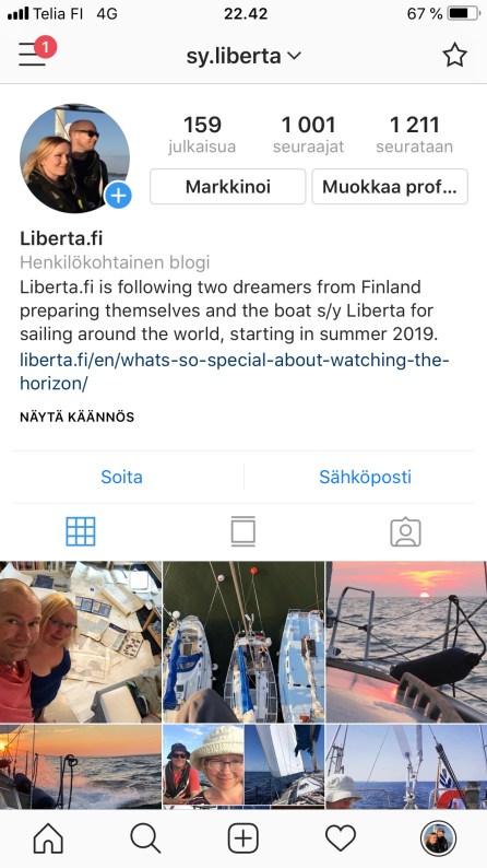 Liberta Instagramissa