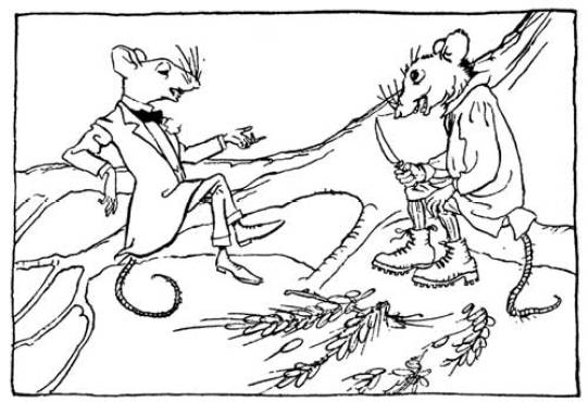 Rackham town mouse and country mouse