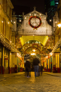 Leadenhall Market in Christmas Splendour