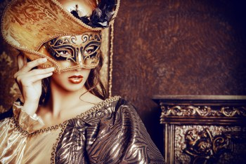 Venetian masquerade carnival. Could be opera