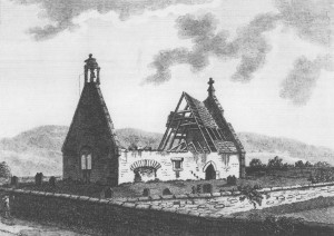 Alloway Kirk, where witches dance for Tam O'Shanter