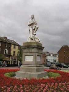 Statue of Robert Burns, Dumfries