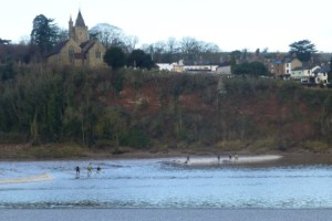 surfers losing to Severn Bore