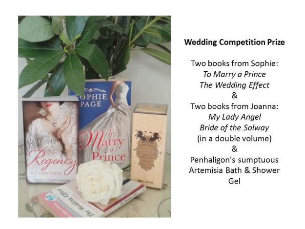 wedding competition prize