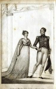 Princess Charlotte's wedding, world-building