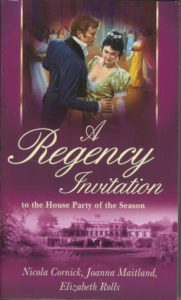 cover story -- UK cover of A Regency Invitation 2004