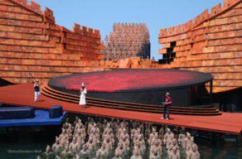 Bregenz set for opera Turandot 2015