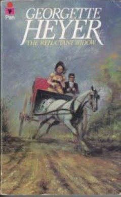 The Reluctant Widow by Georgette Heyer, full of exclamation marks