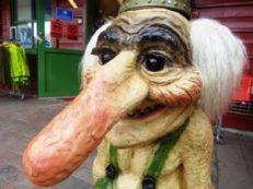 large Norwegian troll but is he dangerous?