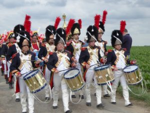 researching via re-enactment Waterloo band