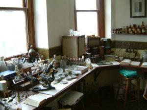 Alexander Fleming Laboratory Museum in St Mary's Hospital, Paddington