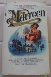 "cover of ""Maureen"" a US bestseller"