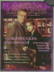 Buffy's Librarian American Libraries Cover