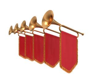 Trumpets dedicating