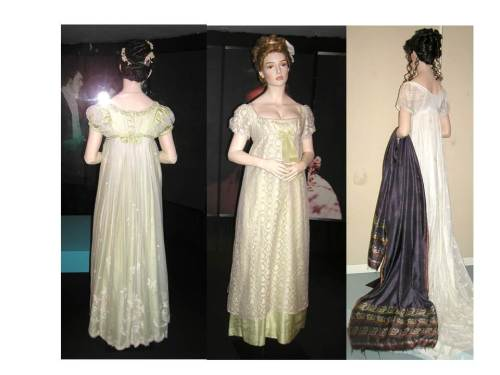 Replica Regency gowns from TV series