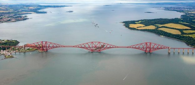 Forth Bridge #1, the Forth (railway) Bridge