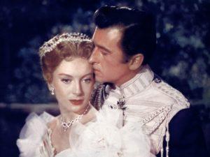 Not a Royal wedding. Deborah Kerr and Stewart Granger in Prisoner of Zenda