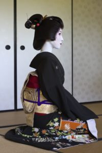 real geisha, not a costume for halloween