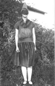 guising for halloween in Canada 1928