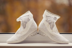 bridal ankle boots, Royal Wedding