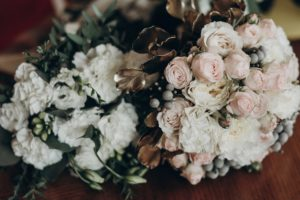 Bride and bridesmaid's bouquet, Royal Wedding