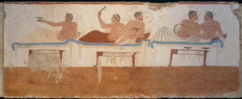 Paestum tomb of diver: symposium