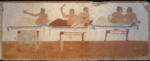 Paestum tomb of diver: symposium