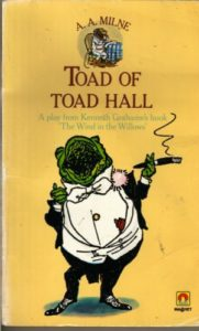 Day 11 Toad of Toad Hall