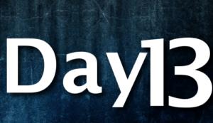 Day 13 calendar