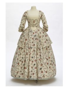 1770s caraco dress<BR>© Victoria and Albert Museum, London