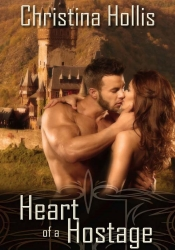 cover Heart of a Hostage by Christina Hollis