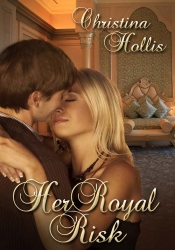 cover Her Royal Risk by Christina Hollis