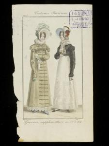 1817 pelisse and spencer fashion plate © Victoria and Albert Museum, London