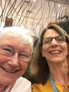 Romance Conference Diary Liz with Barbara Wallace