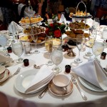 Romance Writers Conference tea with publisher