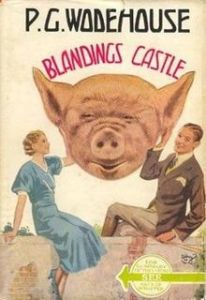 My first library - Blandings Castle