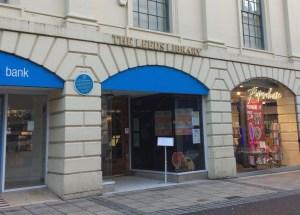Georgian Library Leeds, entrance