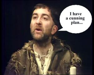 Baldrick has a cunning plan